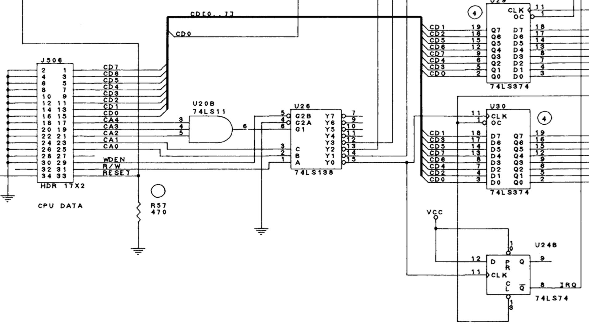 Wpc Cpu Schematics Schematic Wiring Diagrams Pinball Raspisound Also For Mods Lets Pimp Your Machine Ge